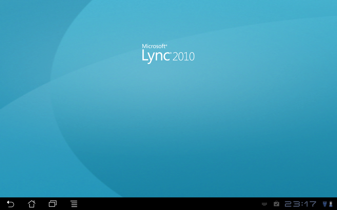 A look at Lync Mobile on Android Tablet | Justin Morris