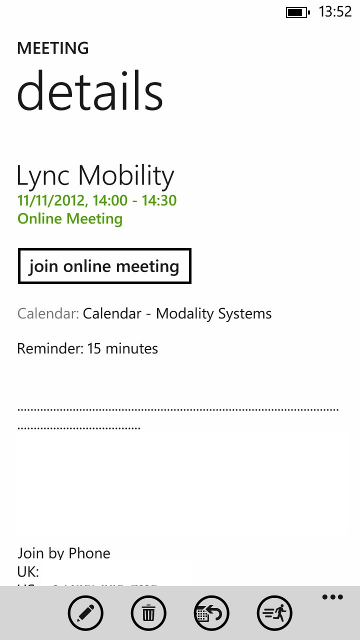 lync online meeting telephone Join your lync online meeting from any mobile or land-line phone link to international dial-in numbers.