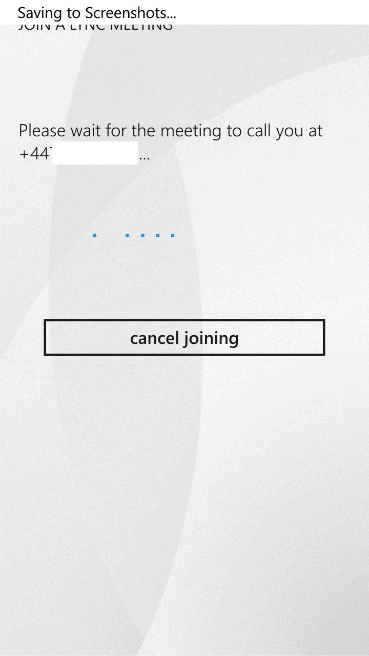 how to create lync server meeting phone number